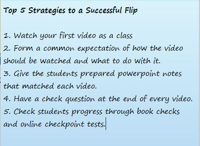 5 Strategies to a successful flip postit