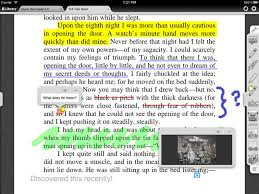 Example of digital marking in text. Go digital to streamline your marking and save time.