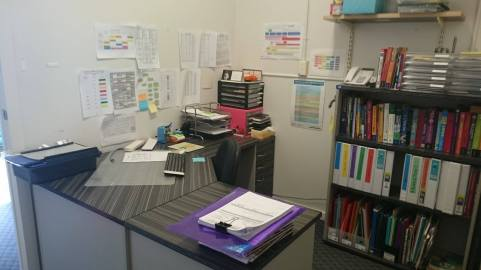 My organised office. Organise your workspace for a great start to the new school year.